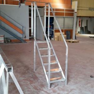 escalera de aluminio soldado 2