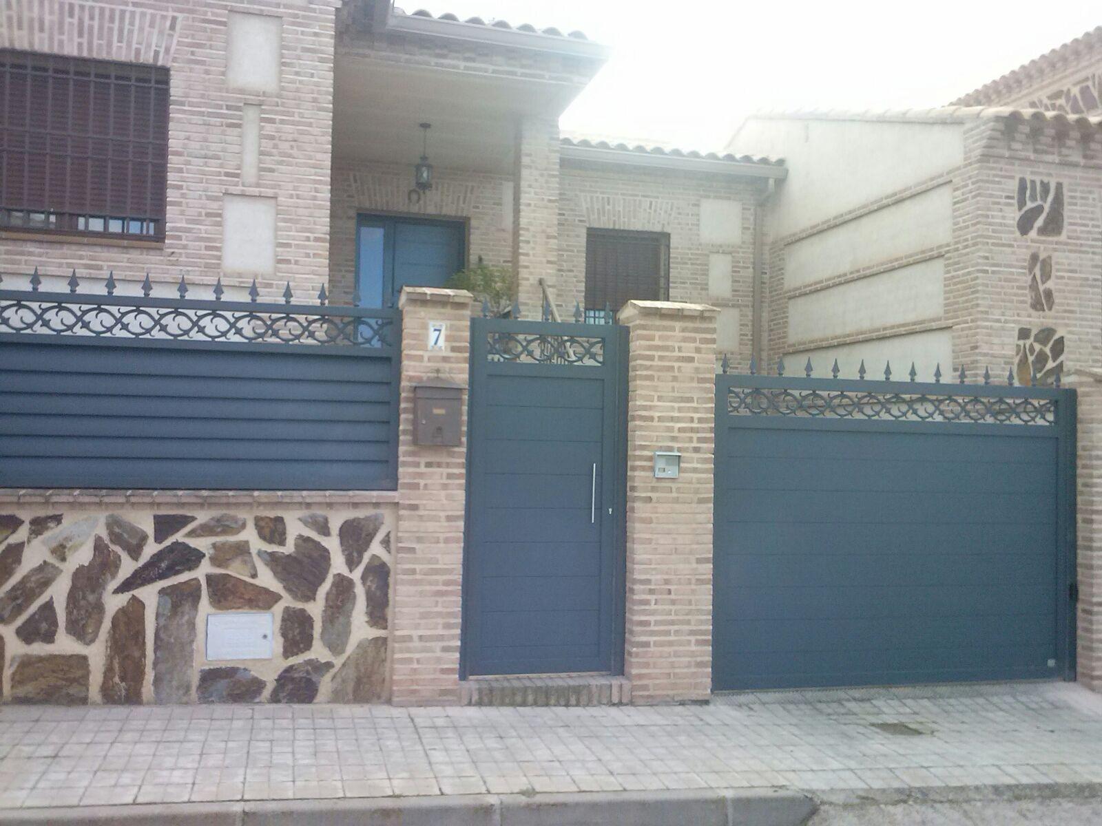 Puertas de aluminio para exterior grupo marver - Puertas de aluminio para exterior fotos ...