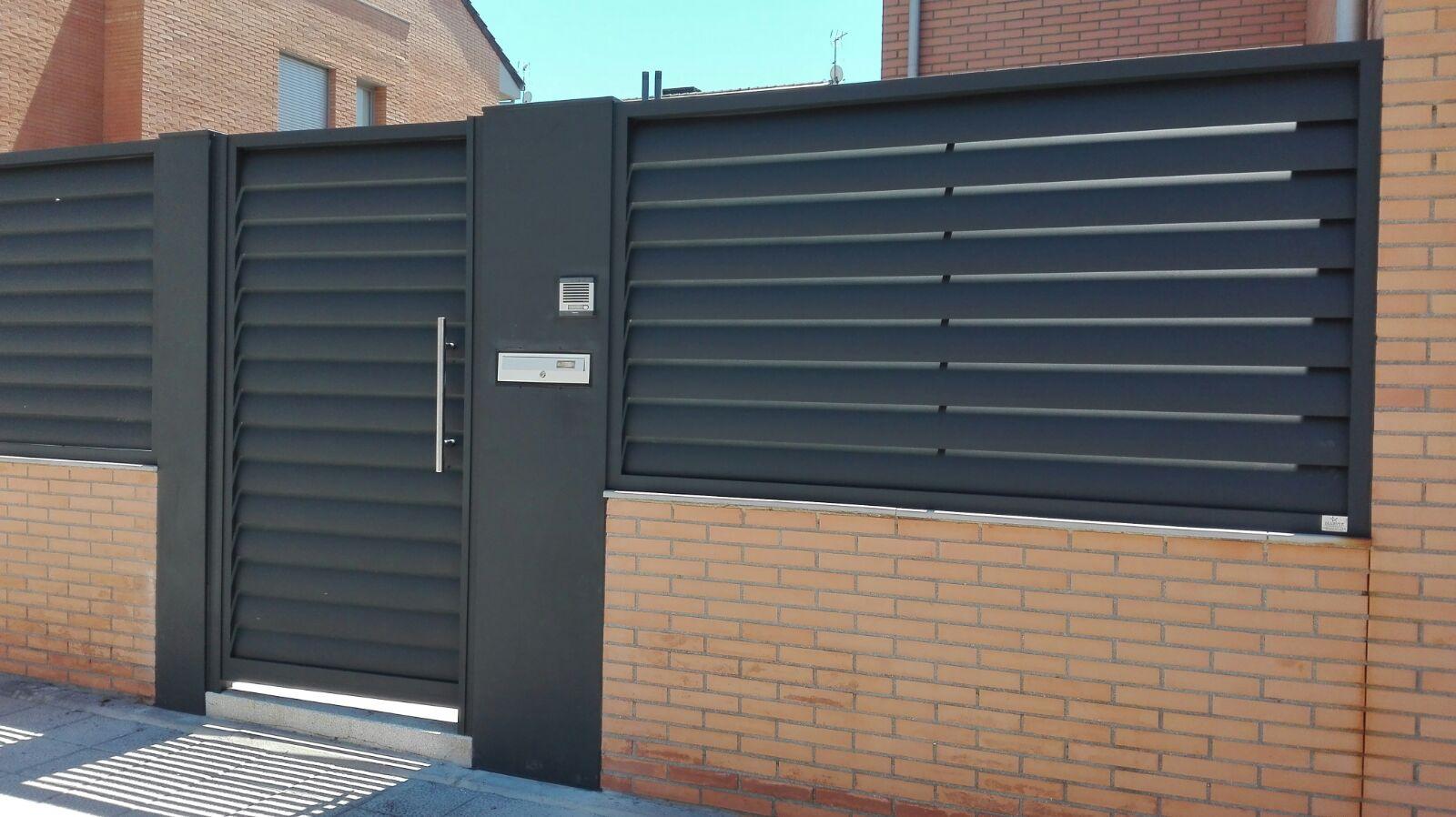 Marver aluminio soldado blog grupo marver puertas de - Vallas de aluminio ...