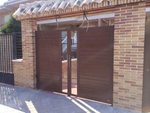 puerta de panel
